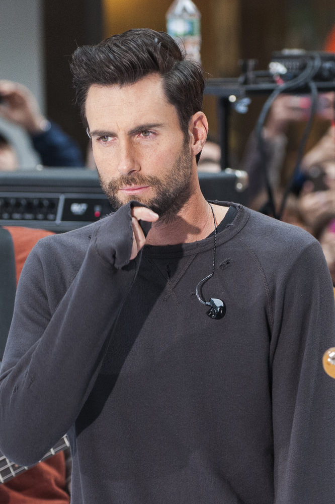 "Maroon 5 in Concert on NBC's ""Today Show"" at Rockefeller Center in New York City on June 14, 2013"