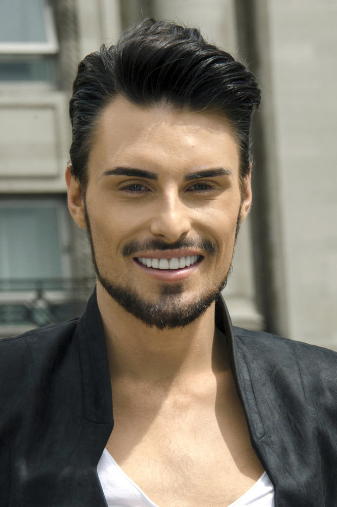 "Rylan Clark ""Fur Free and Proud"" PETA Photocall at Marble Arch in London on June 12, 2013"